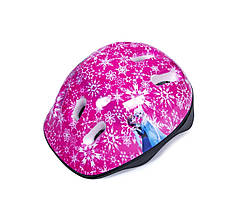 Защитный Детский Шлем Pink Snowflakes