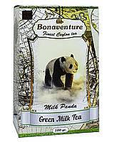 Чай зелений з ароматом молока Bonaventure Milk Panda 100 г (52765)