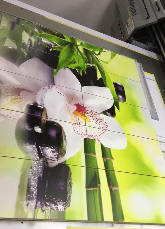 Производство керамической фотоплитки - Фэншуй