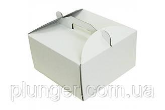 Коробка картонна для торта 45 см х 45 см х 21 см (45Т)