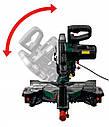 Торцовочная пила Диск 255мм c протяжкой 330мм  PARKSIDE : 2450 Вт / Лазерный указатель   1 год гарантии, фото 2