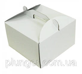 Коробка картонна для торта 35 см х 35 см х 20 см (35Т)