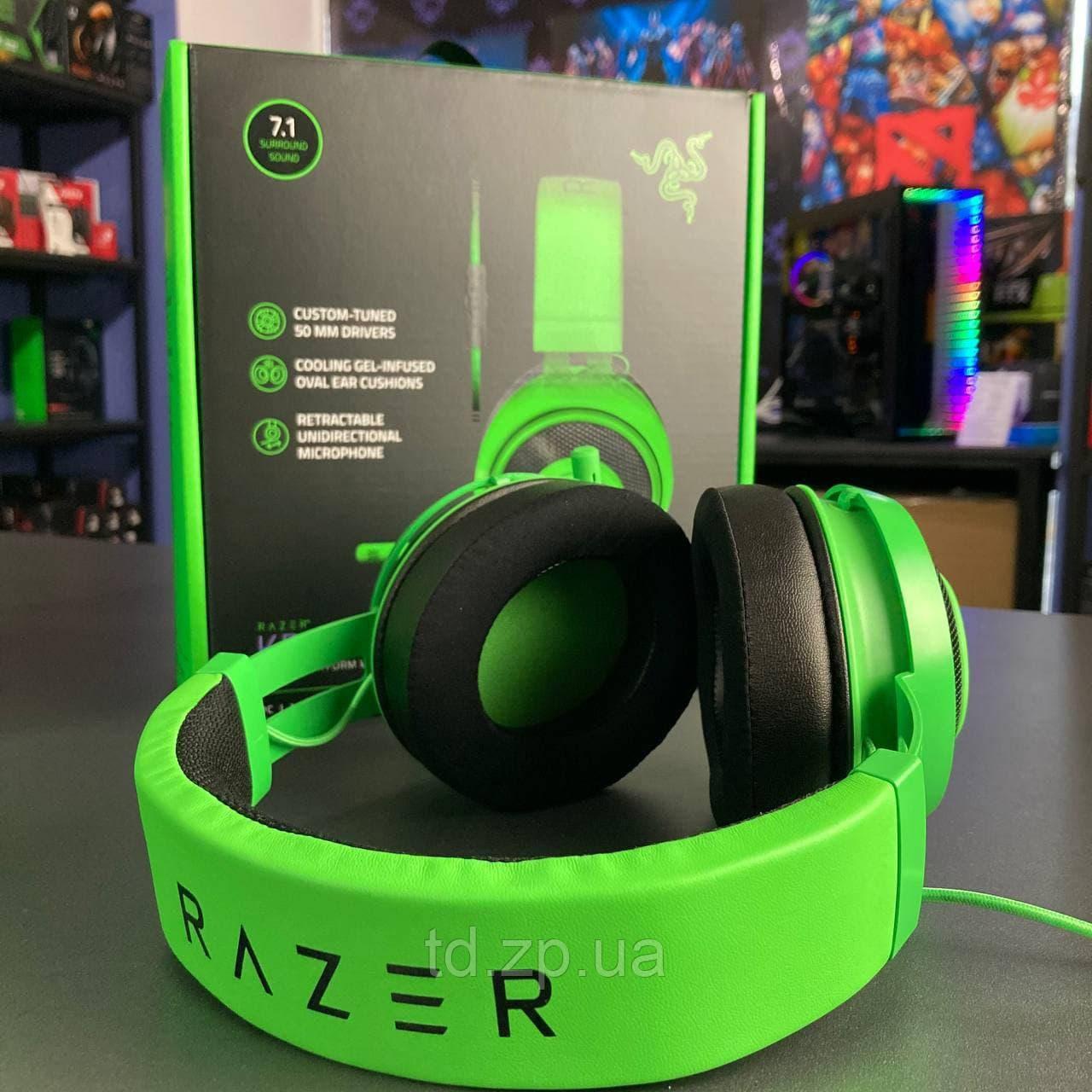 Наушники Razer Kraken Green