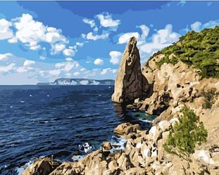Картина за номерами (Морські скелі) bk_1028