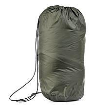 Спальный мешок для туризма и походов - одеяло для сна (Спальник) 210х70см Походный Весна/Лето Зеленый