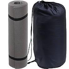 Спальный мешок для туризма и походов - одеяло для сна (Спальник) 210х70см Походный Весна/Лето Синий + Каремат