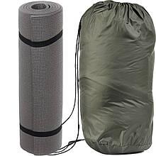 Спальный мешок для туризма и походов - одеяло для сна (Спальник)210х70см Походный Весна/Лето Зелёный + Каремат