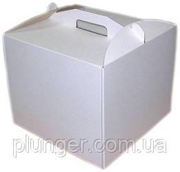 Коробка картонна для торта 35 см х 35 см х 35 см (35Т)