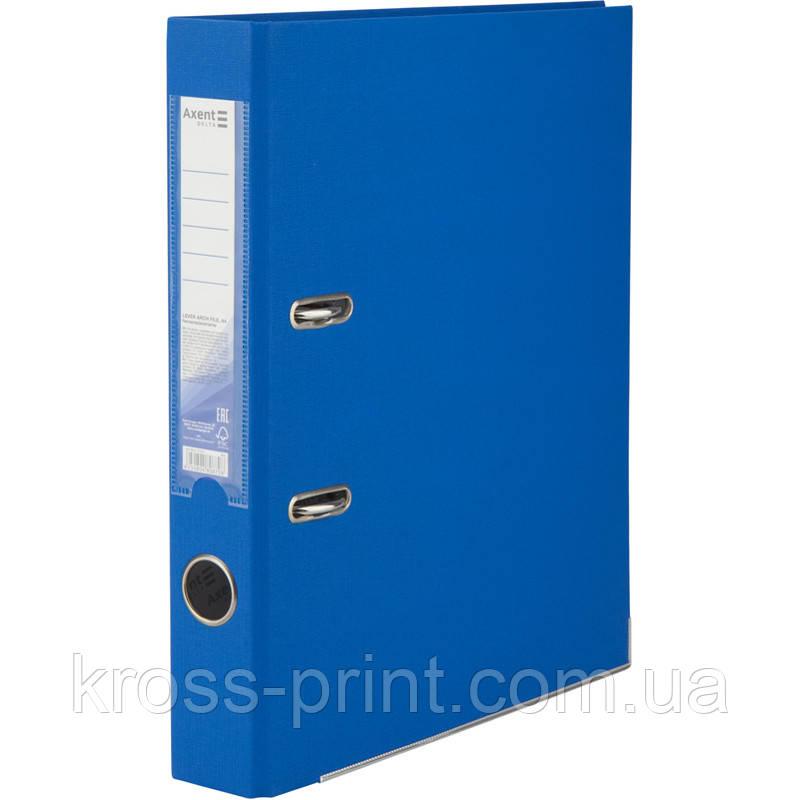 Папка-реєстратор Axent Delta D1713-07P, одностороння, А4, 50 мм, розібрана, блакитна