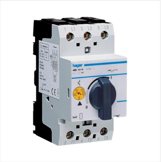 Автомат для защиты двигателя трех фазный,I=1,6-2,4 А, MM507N