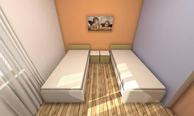 Набір меблів для готелю для 2-х чоловік №1, меблі для готелів