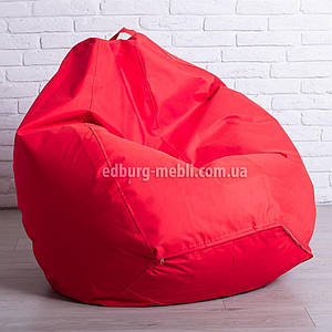 Крісло мішок груша | Великий червоний Oxford