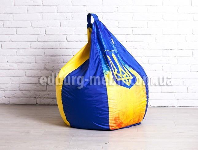 Кресло мешок груша большая    укрпринт Oksford
