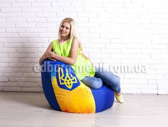 Кресло мешок груша большая    укрпринт Oksford, фото 2