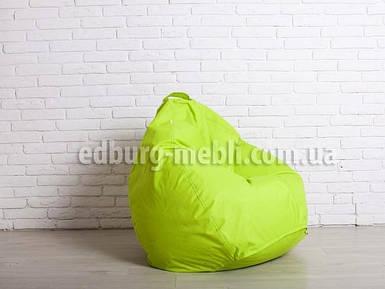 Крісло мішок груша велика | салатовий Oxford