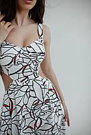 Літній сарафан довжиною міді, фото 2