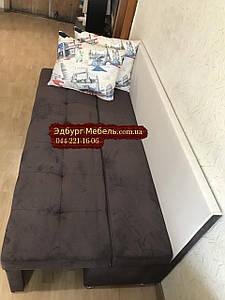 Диван для вузької і довгої кімнати з ящиком + спальним місцем 1800х600х800мм
