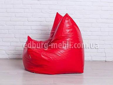 Крісло Фоксі | червоний кожзам Zeus