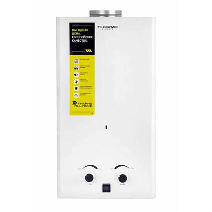Газова колонка Thermo Alliance димохідна JSD20-10CR 10 л біла
