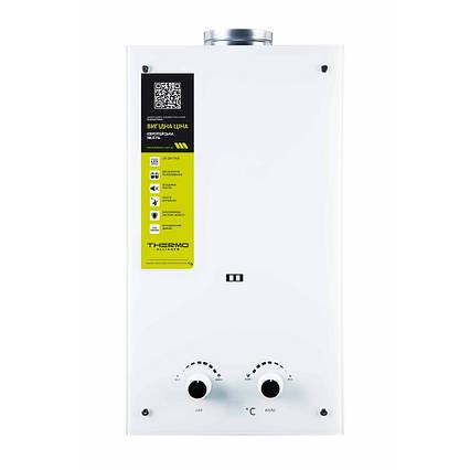Газова колонка Thermo Alliance димохідна JSD20-10GE 10 л скло (біле)
