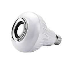 Беспроводной Bluetooth Динамик-лампа меняющая свет! Колонка блютуз на пульте управления. Resteq (679173923)