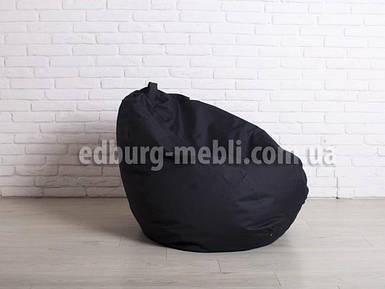 Крісло мішок груша | Великий чорний Oxford