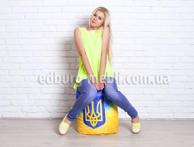Пуфик Діжечку   укрпринт Oksford