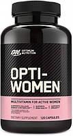 Вітаміни для жінок Optimum Nutrition Opti-Women (120 кап)