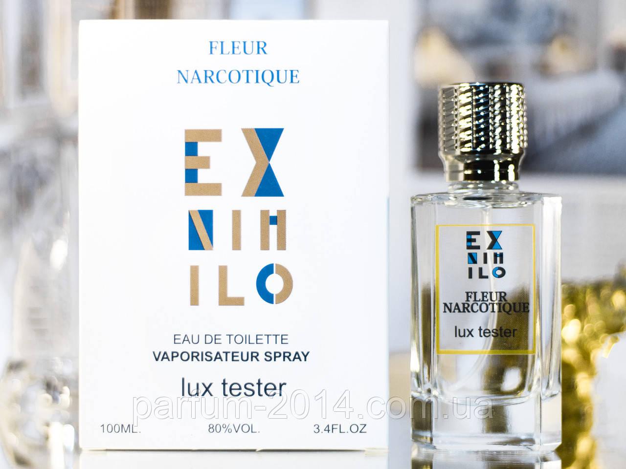 Унисекс духи экс нехило флер наркотик Ex Nihilo Fleur Narcotique 100 ml (лиц) аромат тестер tester парфюм