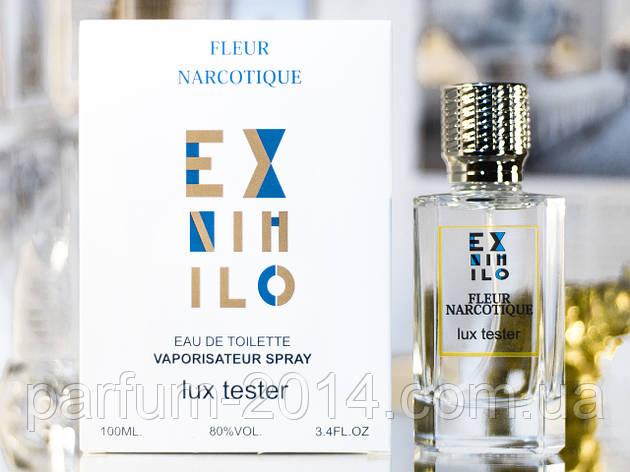 Унисекс духи экс нехило флер наркотик Ex Nihilo Fleur Narcotique 100 ml (лиц) аромат тестер tester парфюм, фото 2
