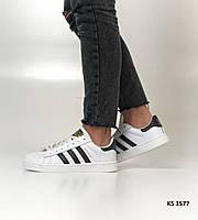 Adidas Superstar (бело/черные) р-р 36