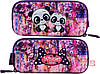 Шкільний рюкзак набір для дівчинки 1-3 клас пенал і сумка для сменки Ведмідь Панда SkyName R4-401, фото 6