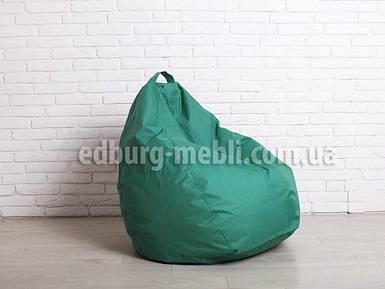 Крісло мішок груша | Великий зелений Oxford