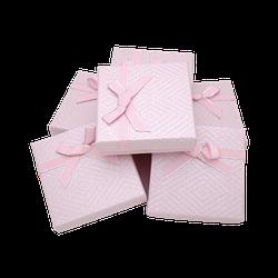 Коробки 90x90x25 Картон Розовый