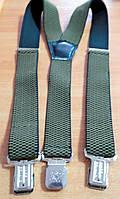 Подтяжки (помочи) зеленые Y - образные