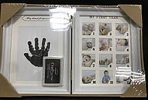 Фоторамка книжка для фото і відбитків ручки