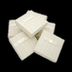 Коробки 90x90x25 Картон Молочный
