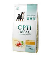 Корм Optimeal Maxi Adult Dogs With Chicken 4 кг для собак великих порід з куркою
