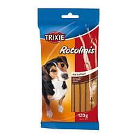 Крученые палочки для собак Rotolinis (птица) 120гр/12см 12шт