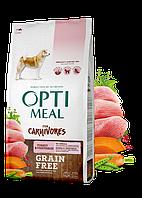 OptiMeal For Carnivores 10 кг - Беззерновой корм для собак з індичкою і овочами