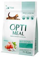 Optimeal Kittens 4 кг - корм для кошенят з куркою