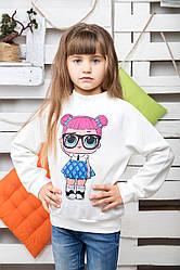 Світшот Лялька Лол молоко