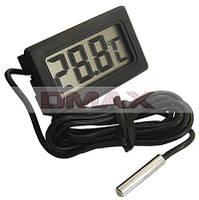 Мини термометр TL-8009 с выносным датчиком температуры, фото 1