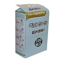 Пеленки для собак All-Absorb 60х45 см, 100 шт, ЯПОНСКИЙ СТИЛЬ
