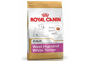 Royal Canin West Highland White Terrier Adult 3 кг - корм для собак породы вест-хайленд-уайт-терьер