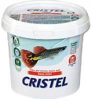 Корм для дрібних видів риб 1 л / 400 грCristel Base mini