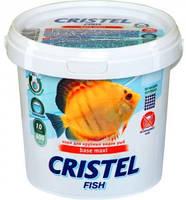 Корм для великих видів риб 1 л / 600 гр Cristel Base maxi