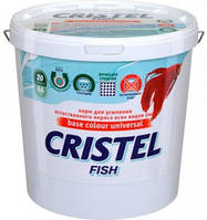 Корм для усиления окраса рыб 1 л /300 гр Cristel Base colour universal