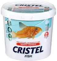 Корм для рыб, питающихся у дна 1 л /800 гр Cristel Benthic standard