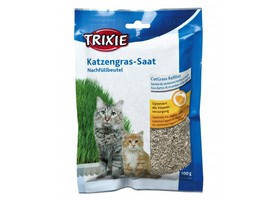 Трава для кошек в пакете 100 гр